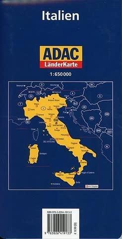 ADAC Karte : Italien