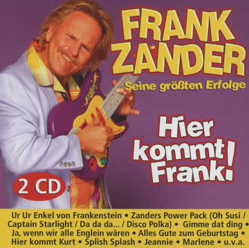 Frank Zander - Hier kommt Frank! Seine grössten Erfolge