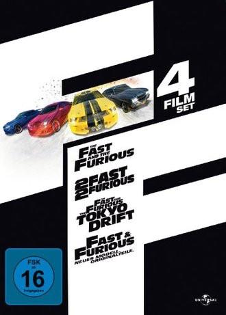 Fast & Furious (1-4 Film-Set)