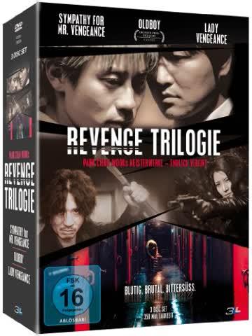 Revenge Trilogie( Sympathy for Mr. Vengeance / Oldboy / Lady Vengeance) [3 DVDs]
