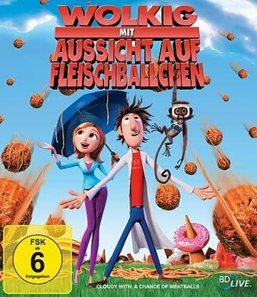 Wolkig mit Aussicht auf Fleischbällchen [Blu-ray]
