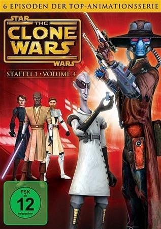 Star Wars: The Clone Wars - Season 1 - Vol. 4