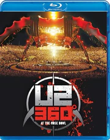 U2 - 360 Degrees Tour (360° At The Rose Bowl) [Blu-ray]