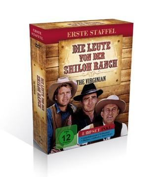 Die Leute von der Shiloh Ranch - Season 1 (The Virginian) [8 DVDs]