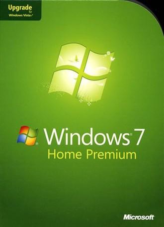 Microsoft Windows Home Premium 7 Upgrade