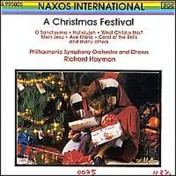Richard Hayman & Philharmonic - A Christmas Festival (Internationale Weihnachtslieder für Chor und Orchester)