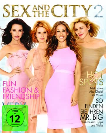 Sex and the City 2 (Special Edition inkl. Hochglanz Fashion-Magazin) [Blu-ray]