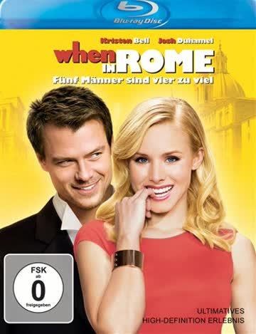 When in Rome - Fünf Männer sind vier zuviel [Blu-ray]