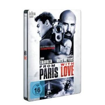 From Paris with Love - Steelbook [DVD] [DVD]