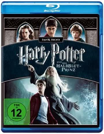 Harry Potter 6 (BR) Und d.Halbblutprinz Min: 153DTS-HD5.1HD-1080p Warner [Import germany]