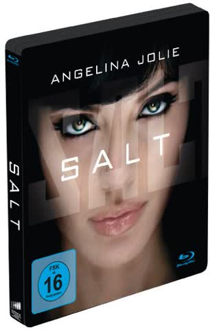 Salt (Limited Steelbook Edition) [Blu-ray]