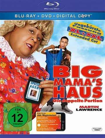 Big Mama's Haus - Die doppelte Portion - Extended Cut (+ Digital Copy Disc) [Blu-ray]