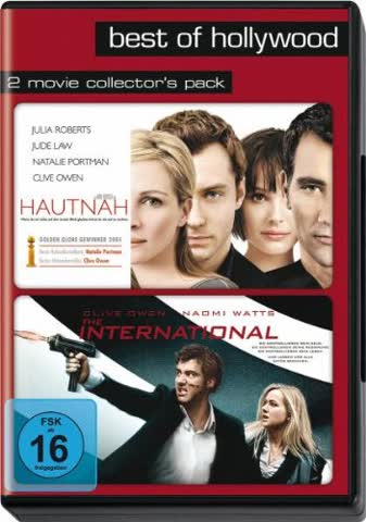 Best of Hollywood - 2 Movie Collector's Pack: Hautnah / The International [2 DVDs]