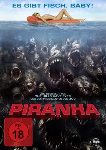Piranha (DVD) 2010 Min: 85DD5.1WS [Import germany]