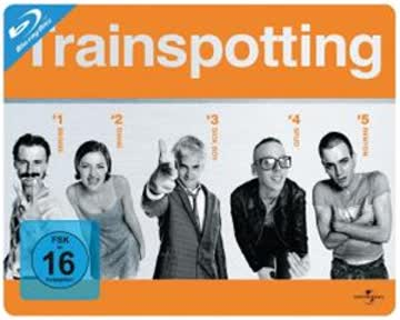 Trainspotting - Limited Quersteelbook [Blu-ray]