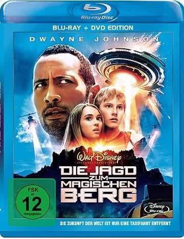 Die Jagd zum magischen Berg (+ DVD Edition) [Blu-ray]