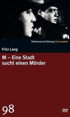 M - Eine Stadt sucht einen Mörder - SZ-Cinemathek 98