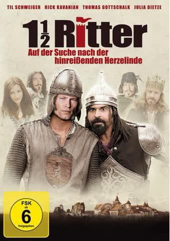 1 1/2 Ritter - Auf der Suche nach der hinreissenden Herzelinde