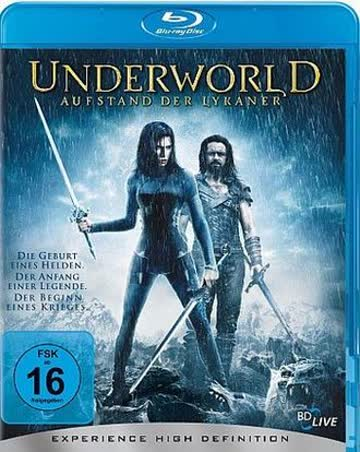 Underworld - Aufstand der Lykaner (+ Digital Copy Disc) [Blu-ray]