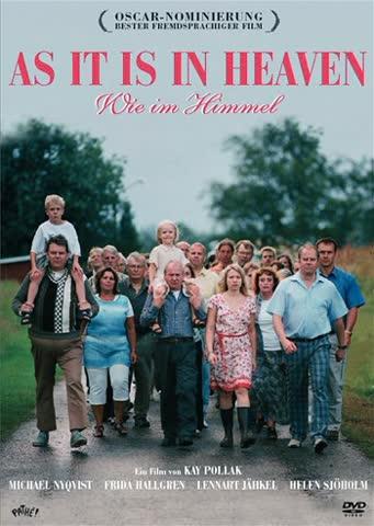As It Is In Heaven (dvd)