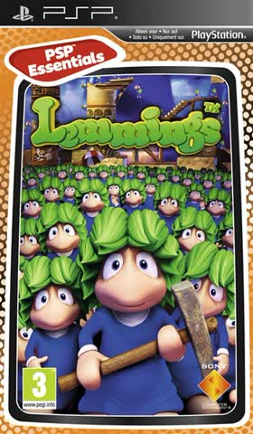 Lemmings PSP ESSENTIALS PEGI
