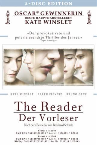 The Reader - Der Vorleser (2-Disc Edition)
