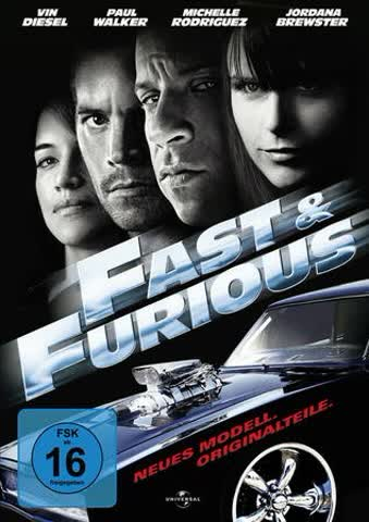 Fast & Furious 4 - Neues Modell.