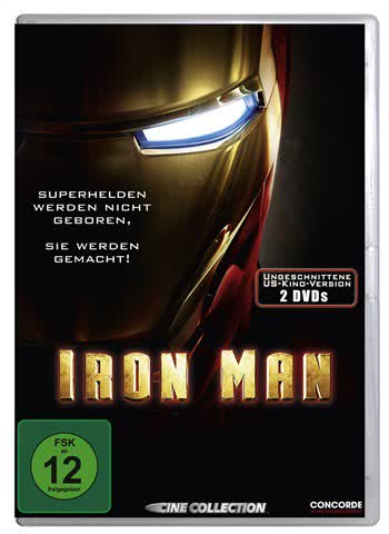 Iron Man (Uncut US-Version) [Special Edition] [2 DVDs]
