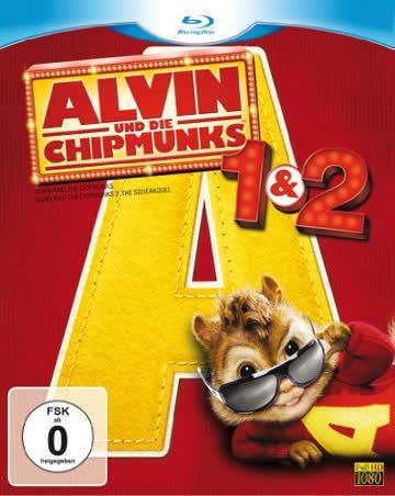 Alvin und die Chipmunks - Teil 1+2 [Blu-ray]