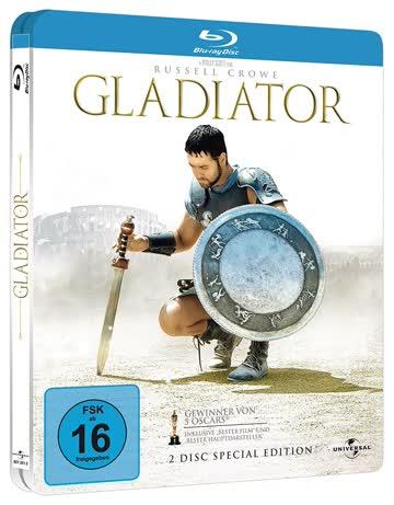 Gladiator (2-Disc Special Edition im Steelbook) [Blu-ray]