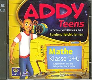 Addy Teens für Schüler der Klassen 5 bis 8 Mathe Klasse 5+6