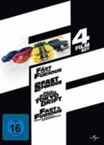 Fast & Furious 4 Film Set [Import allemand]