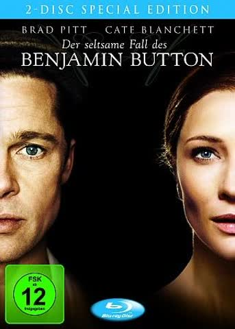 BD * Der seltsame Fall des Benjamin Button (2 Discs) [Blu-ray] [Import allemand]