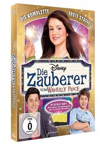 Die Zauberer vom Waverly Place - Die komplette erste Staffel [3 DVDs]