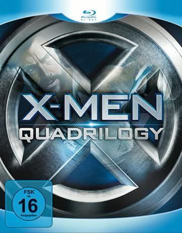 X-Men - Quadrilogy [Blu-ray]