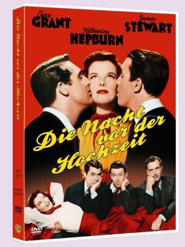 The Philadelphia Story (Die Nacht Vor Der Hochzeit) German Region 2 Import, plays in English