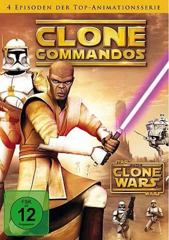 Star Wars: The Clone Wars - Season 1 - Vol. 2: Clone Commandos