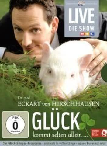 Eckart von Hirschhausen - Glück kommt selten allein (2 DVDs)