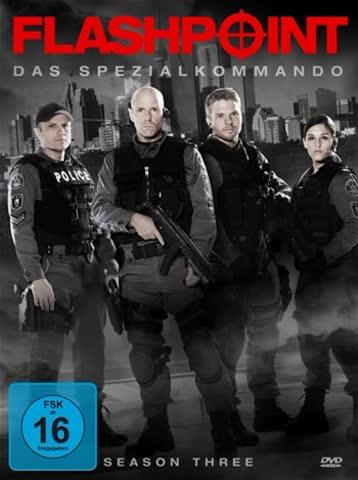 Flashpoint - Das Spezialkommando, Season Three [3 DVDs]