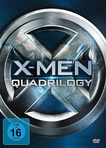 X-Men Quadrilogy [4 DVDs]