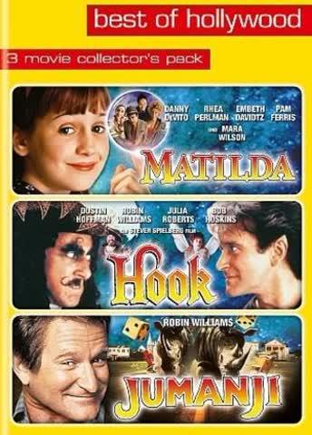 Matilda/Hook/Jumanji - Best of Hollywood (3 DVDs)