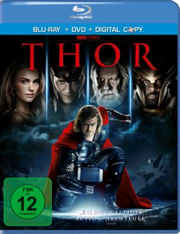 Thor (BR+DVD) Min: 115DD5.1WS BR+DVD+DC 2Disk [Import germany]