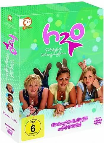 H2O - Plötzlich Meerjungfrau: Die komplette 2. Staffel [4 DVDs]