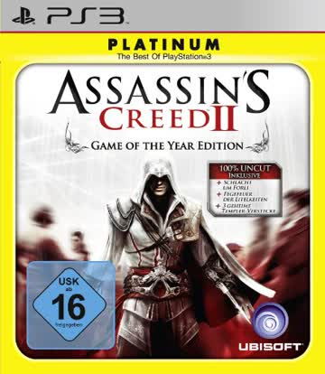 Assassin's Creed 2 - Game of the Year Edition [Platinum]