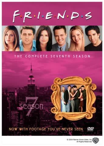 Friends: Complete Seventh Season [DVD] [1995] [Region 1] [US Import] [NTSC]