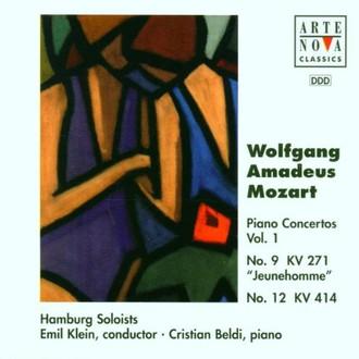 E. Klein - Mozart: Klavierkonzerte Vol. 1