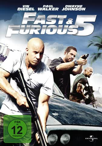 Fast & Furious Five - Special Edition (DVD)