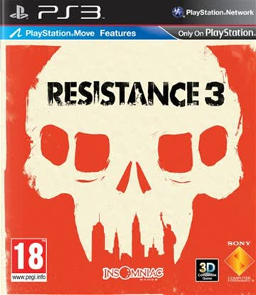 Resistance 3 [Playstation Move Features]