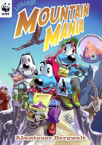 Mountainmania - Päckchen mit 5 Stickern