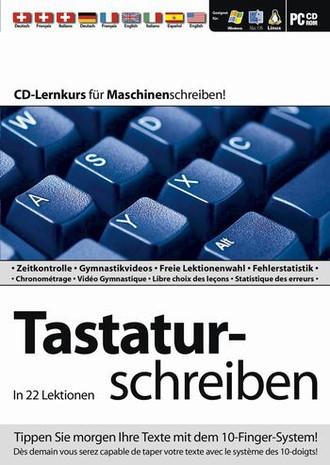 Tastaturschreiben In 22 Lektionen /programme D´apprentissage Du Clavier En